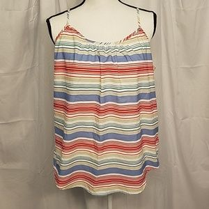 3 for $9 Striped Faded Glory Sleeveless Top